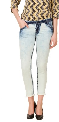 Cali Republic Skinny Women's White Jeans