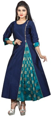 Divine International Trading Co Casual Self Design, Embellished Women Kurti(Multicolor)