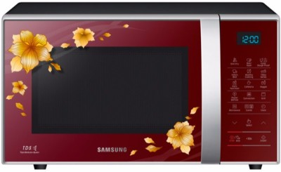 Samsung 21 L Convection Microwave Oven(CE77JD-QD/TL, Maroon)