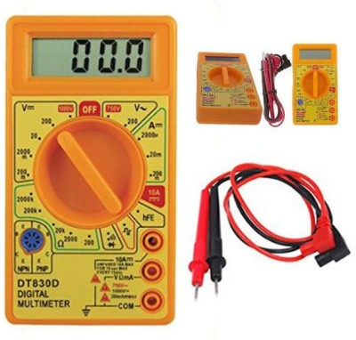 Divye ELectronics Solutions Multi meter Digital Multimeter(Yellow 2000 Counts)