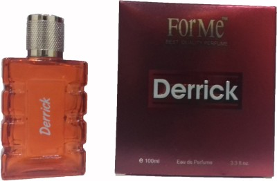 Forme Derrick perfume for men 100ml Eau de Parfum  -  100 ml(For Men)  available at flipkart for Rs.90