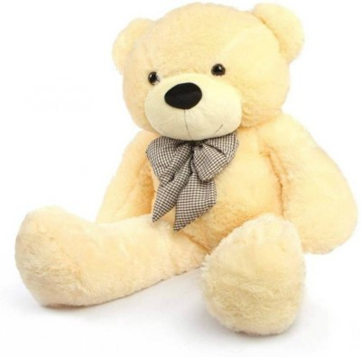 SANA TOYS Sana Sweet Cream Bear With Fancy Bow 5Feet teddy   150 cm Cream SANA TOYS Soft Toys