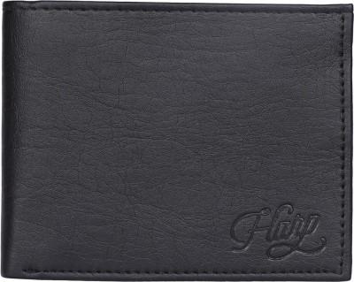 Shopharp Men Black Artificial Leather Wallet(6 Card Slots) at flipkart