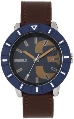 ROADIES R7016BRBL Watch  - For Men