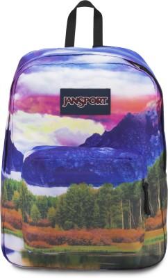 JanSport High Stakes Tetons Sunset 25 L Backpack(Multicolor)