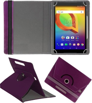 Fastway Book Cover for Alcatel A3 10 10.1 inch(Purple, Cases with Holder)