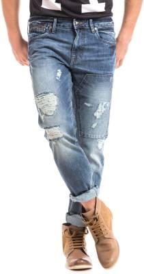 Ed Hardy Slim Men Light Blue Jeans