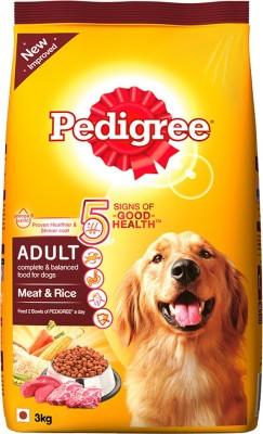 Pedigree Adult Meat Rice Dry Dog Food