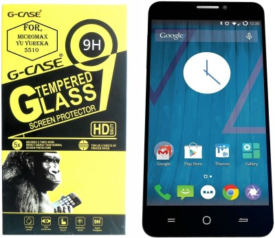 G-case Tempered Glass Guard for Micromax YU YUREKA AO5510  available at flipkart for Rs.149