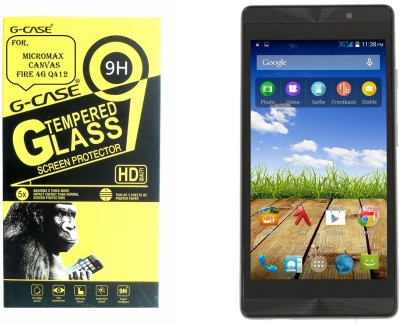 G-case Tempered Glass Guard for Micromax Canvas Fire 4G Q412