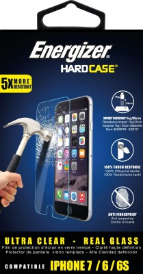 ENERGIZER Tempered Glass Guard for Apple iPhone 6s, Apple iPhone 7(Pack of 1)