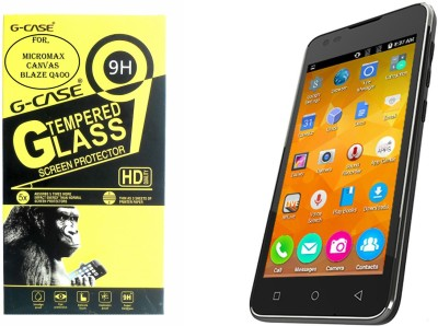 G-case Tempered Glass Guard for Micromax Canvas Juice 4G Q461(Pack of 1)