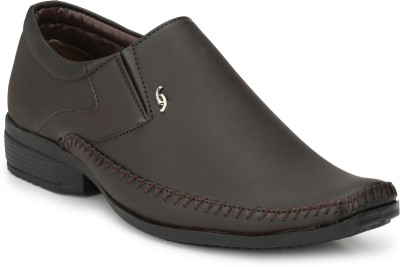 HNT 016503BROWN Slip On For Men(Brown)
