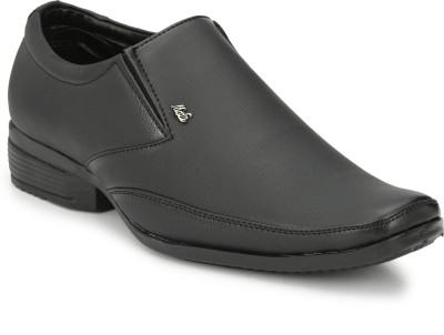 HNT 016506BLACK Slip On For Men(Black)