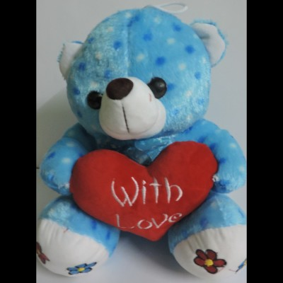 Anant Gift Gallery Blue Teddy Bear   33 cm Light Blue Anant Gift Gallery Soft Toys