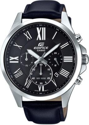 Casio Edifice EFV-500L-1AVUDF (EX319) Analog Black Dial Men's Watch (EFV-500L-1AVUDF (EX319))