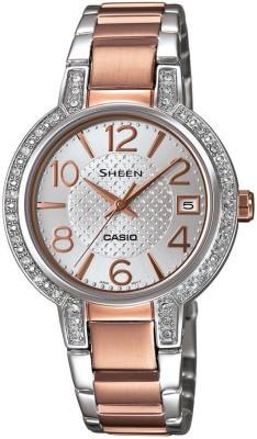 CASIO SX129 Sheen   SHE 4804SG 7AUDR   Analog Watch   For Women CASIO Wrist Watches