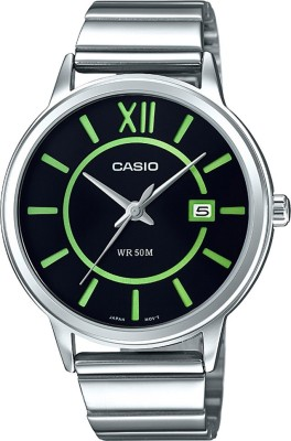 Casio Enticer MTP-E134D-1BVDF (A1198) Analog Black Dial Men's Watch (MTP-E134D-1BVDF (A1198))