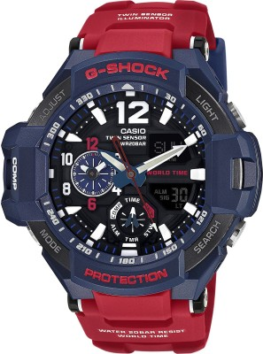 CASIO G597 G-Shock ( GA-1100-2ADR ) Analog-Digital Watch - For Men