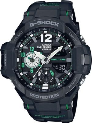 Casio G595 G-Shock ( GA-1100-1A3DR ) Analog-Digital Watch - For Men