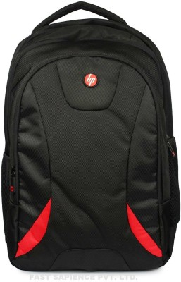 HP 18 inch Expandable Laptop Backpack(Black, Red)