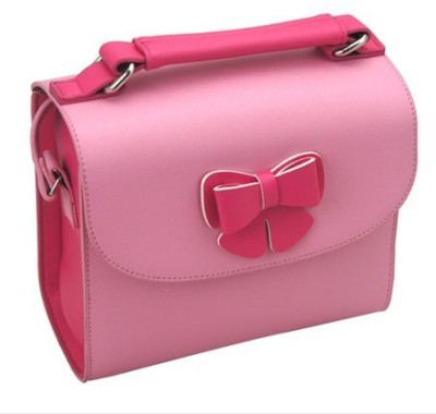 Caiul Soft PU Leather Butterfly Series Carry Instax Mini 7s 8 9 25 50s 70 90 Case Pink Camera Bag Pink