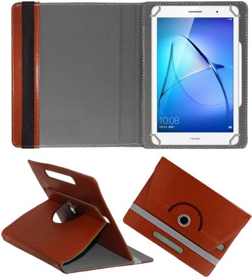 Fastway Book Cover for Honor MediaPad T3 8 inch(Brown, Cases with Holder)