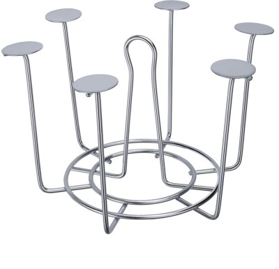 SARANGWARE Glass Stand Stainless Steel Glass Holder  available at flipkart for Rs.499