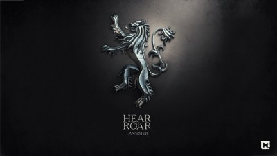 Aabhaas Wall Poster-A-Song-of-Ice-and-Fire-digital-art-Game-of-Thrones-House-Lannister-sigils Paper Print(12 inch X 18 inch, Rolled)  available at flipkart for Rs.207