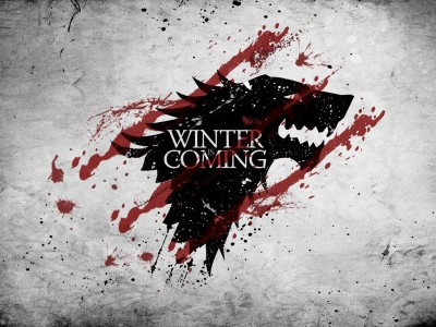 Aabhaas Wall Poster-Game-of-Thrones-House-Stark-A-Song-of-Ice-and-Fire-Winter-Is-Coming Paper Print(12 inch X 18 inch, Rolled)  available at flipkart for Rs.207