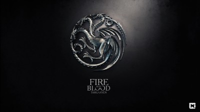 Aabhaas Wall Poster-metal-dragon-logo-anime-digital-art-Game-of-Thrones-A-Song-of-Ice-and-Fire-fire-sigils-House-Targaryen-fire-and-blood Paper Print(12 inch X 18 inch, Rolled)  available at flipkart for Rs.207