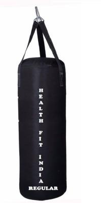 HEALTH FIT INDIA Regular 2.5 Feet Long, SRF - Economic Material, Black Color, Unfilled with Hanging Straps Hanging Bag(2.5, 30 kg)