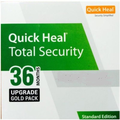 Quick heal TOTAL SECURITY RENEWAL PACK 1PC - 3 YEARS