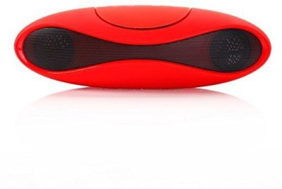 CA2Z Mini Rugby Potable Popular 3 W Bluetooth  Speaker(Red, Stereo Channel)