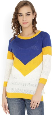United Colors of Benetton Solid Round Neck Casual Women