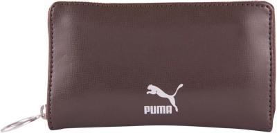 PUMA Men Brown Artificial Leather Wallet PUMA Wallets