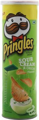Pringles Sour Cream & Onion Flavour Chips(107 g)