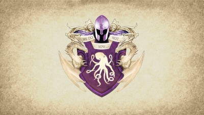 Aabhaas Wall Poster-artwork-paper-A-Song-of-Ice-and-Fire-coats-of-arms-crest-House-Greyjoy-sigils-Game-of-Thrones-Kraken Paper Print(12 inch X 18 inch, Rolled)  available at flipkart for Rs.207