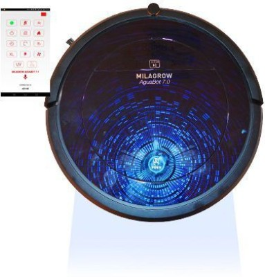 Milagrow AguaBot 7.0 Spaze Robotic Floor Cleaner(Blue and BlackConstellation)  available at flipkart for Rs.39990