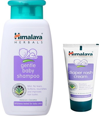 Himalaya Herbals gentle baby Shampoo (100ml)+Himalaya Diaper Rash Cream (20g)(White)  available at flipkart for Rs.195