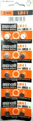Divye Electronics Solutions LR41 1.5V Alkaline Coin Cell - 10 PCS (Silver)  Battery(Pack of 10) at flipkart