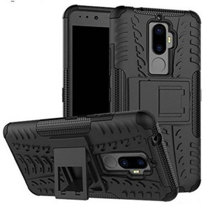 Monogamy Back Cover for Lenovo K8 Plus(Black, Rubber)