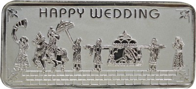 Kataria Jewellers Happy Wedding S 999 50 g Silver Bar