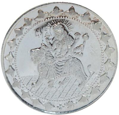 Kataria Jewellers Sherawali Ma S 999 10 g Silver Coin Kataria Jewellers Coins   Bars
