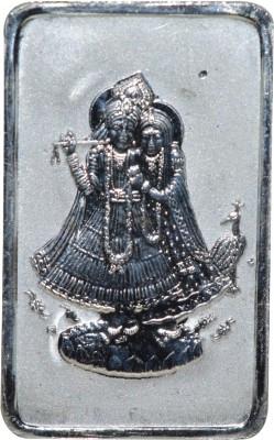 Kataria Jewellers Radha Krishna S 999 10 g Silver Coin