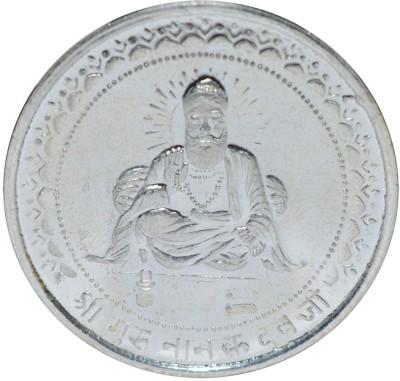 Kataria Jewellers Guru Nanak Dev Ji S 999 10 g Silver Coin Kataria Jewellers Coins   Bars
