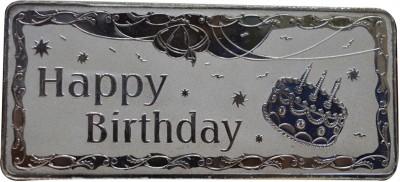 Kataria Jewellers Happy Birthday S 999 100 g Silver Bar Kataria Jewellers Coins   Bars
