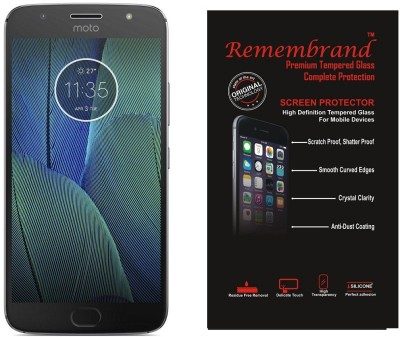 Remembrand Impossible Screen Guard for Motorola Moto G5s Plus(Pack of 1)
