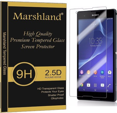 Marshland Tempered Glass Guard for Sony Xperia T2(Pack of 1)