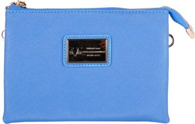 acfdbfa540 70% OFF on Versace 19.69 Italia Women Casual Blue Genuine Leather Sling Bag(Imported)  on Flipkart